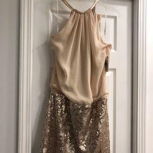 Jessica Simpson sparkly minidress